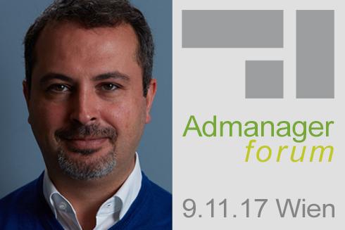Alen Nazarian ist Referent beim Admanagerforum für Vermarkter November 2017
