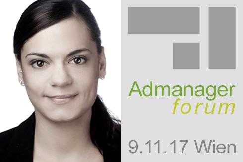 Caroline Schnitker ist Referentin beim Admanagerforum für Vermarkter November 2017