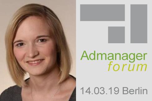 """Sabine Schmidt ist Referentin beim Admanagerforum für Vermarkter """"AdOps Forum Supply"""" März 2019"""