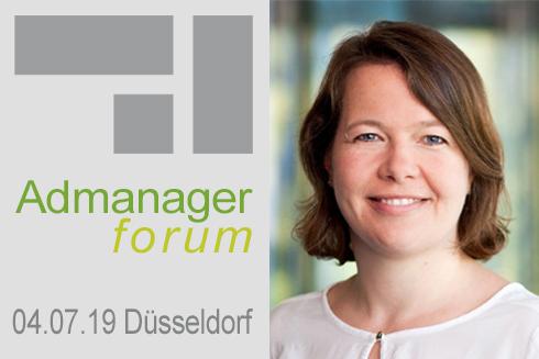 """Meike Kaiser ist Referentin beim Admanagerforum für Agenturen """"AdOps Forum Demand"""" Juli 2019"""